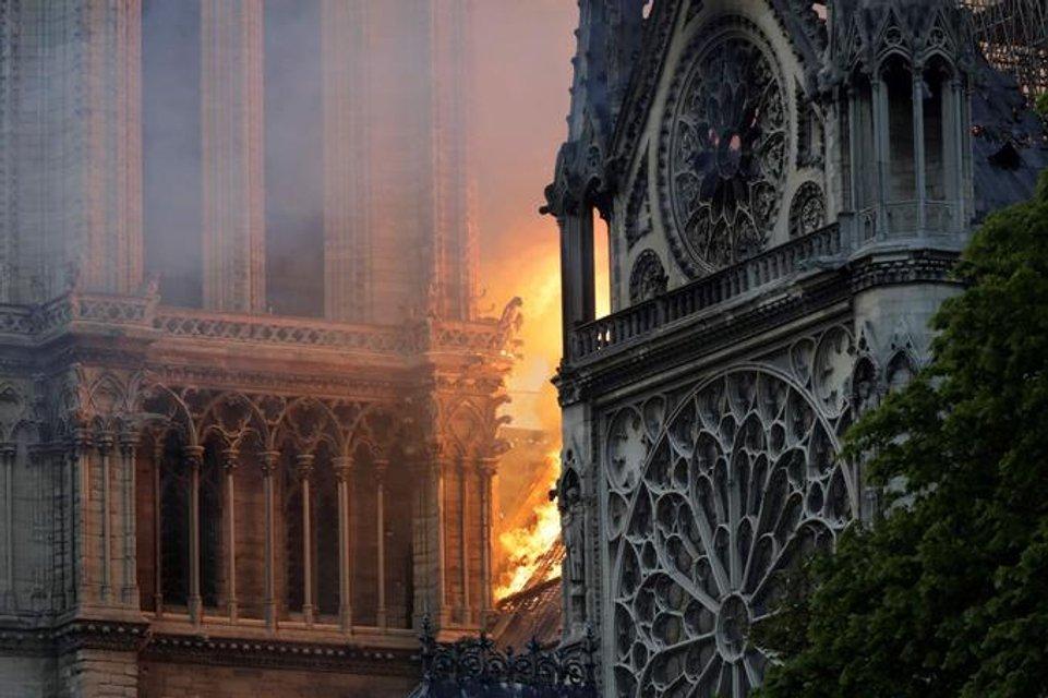 Три части Нотр-Дам де Пари могут обвалиться после пожара - фото 179740
