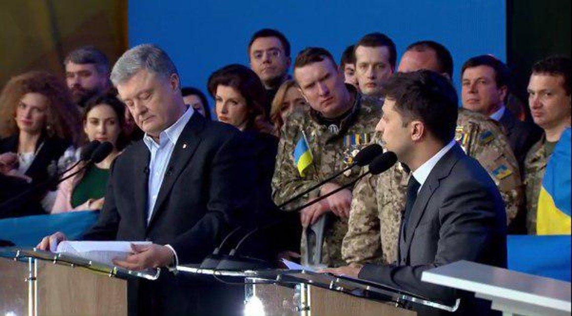 Зеленский vs Порошенко - долгожданные дебаты кандидатов - фото 179781