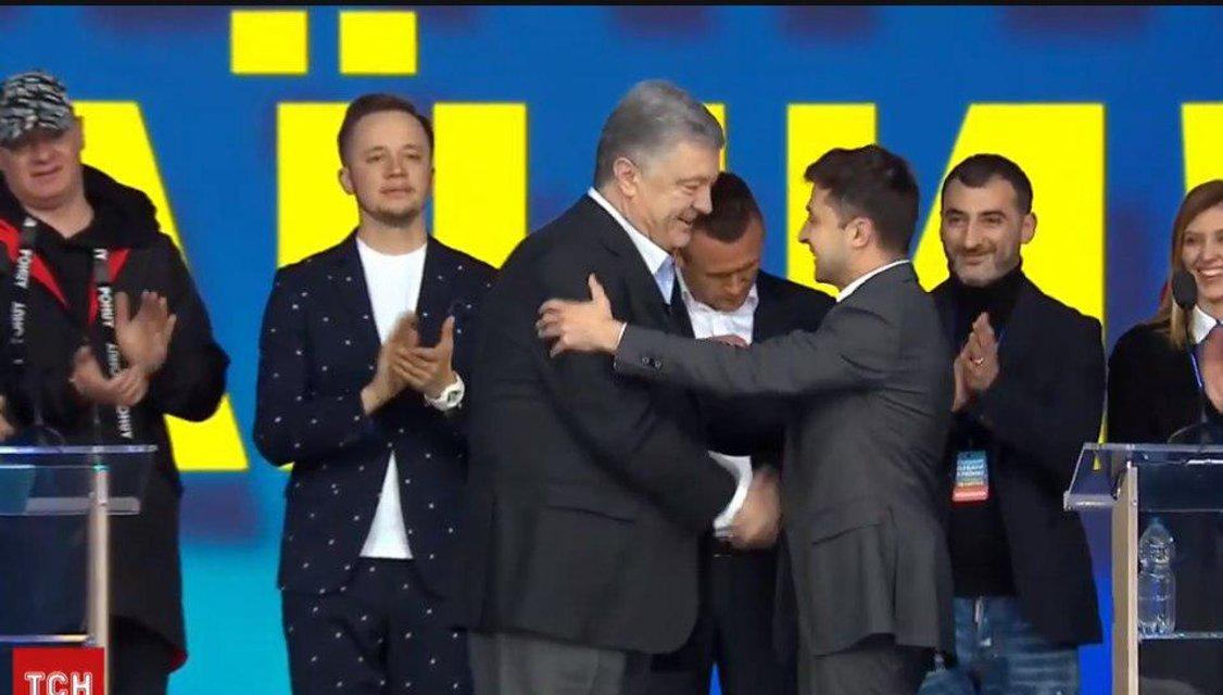 Зеленский vs Порошенко - долгожданные дебаты кандидатов - фото 179782