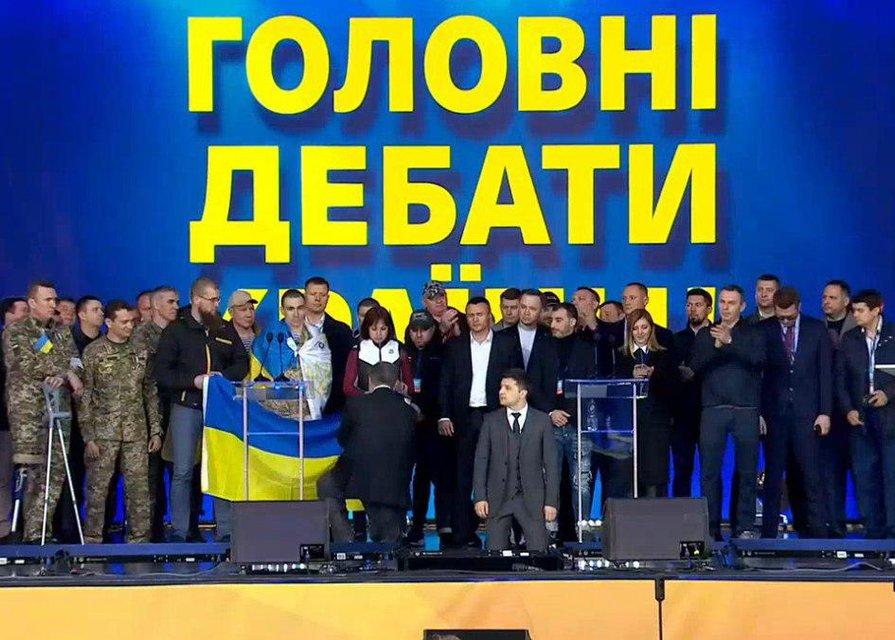 Зеленский vs Порошенко - долгожданные дебаты кандидатов - фото 179801
