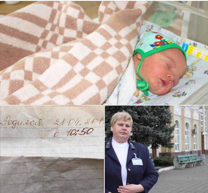 Ребенка-найденыша назвали в честь Зеленского - фото 180063