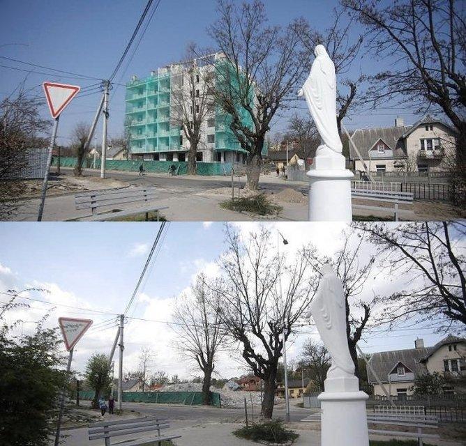 Впервые в Украине: во Львове снесли незаконную многоэтажку - фото 180271