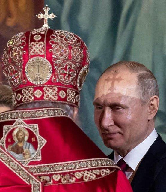 Путин усомнился в божественной сущности Зеленского - фото 180338