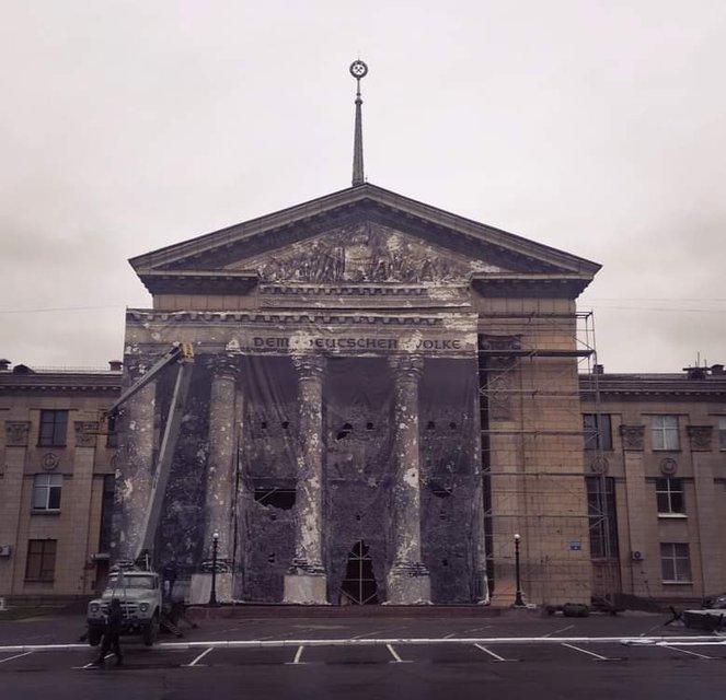 В оккупированном Луганске устроили праздник победобесия - фото 180518