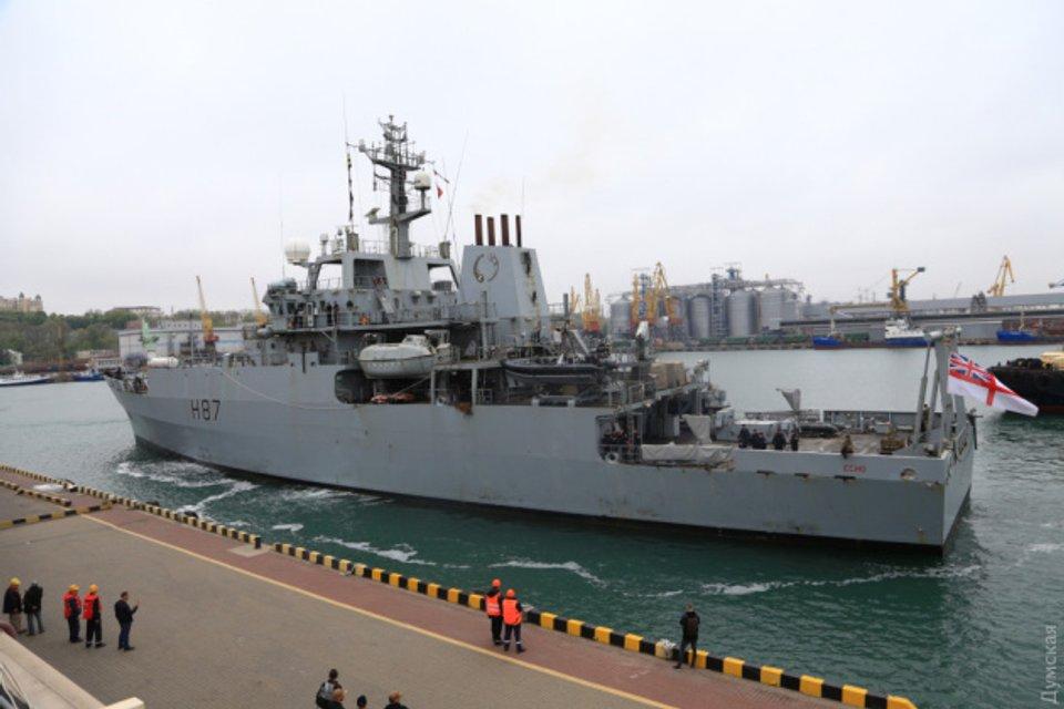 В Одессу зашел корабль-разведчик - ФОТО - фото 180608