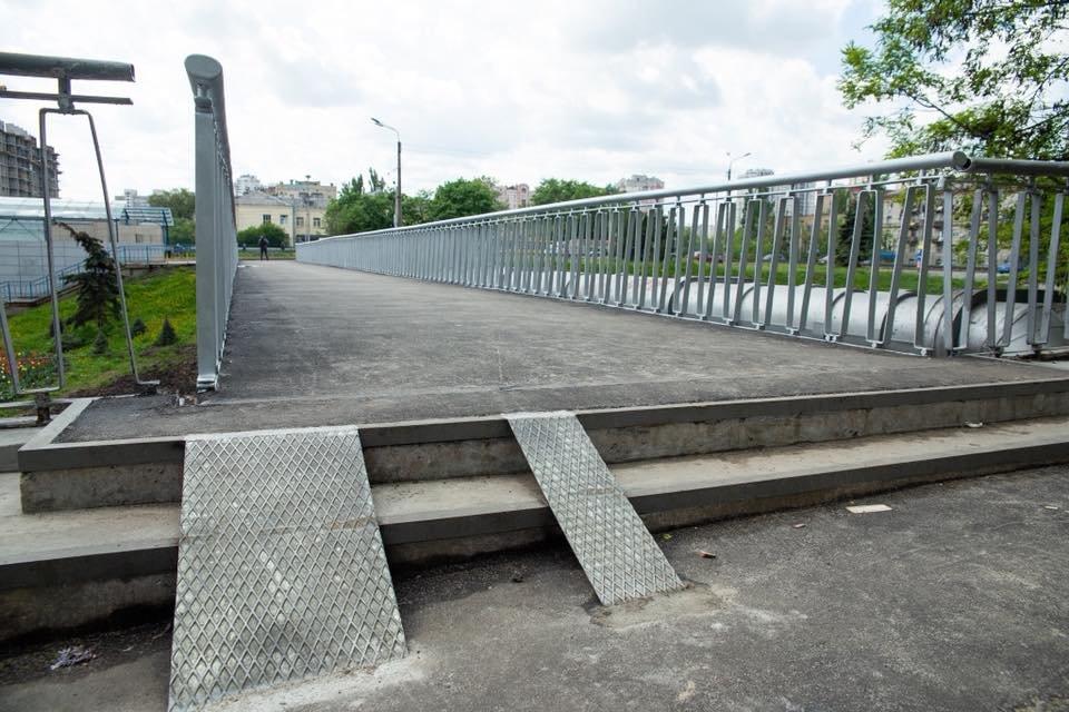 У Кличко похвастались АНТИ-инвалидным мостом - фото 180868