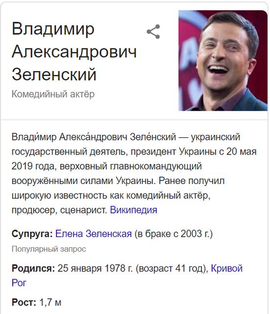 Гугл решил оставить президентом Украины Петра Порошенко - фото 181406