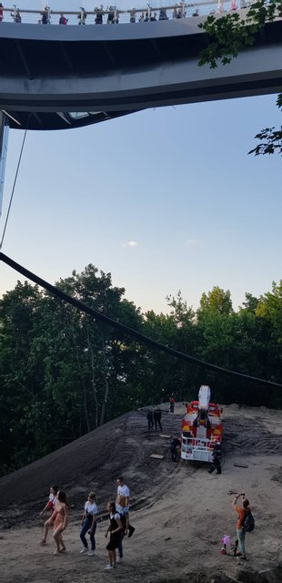 Мост Кличко устал на второй день работы - фото 181639