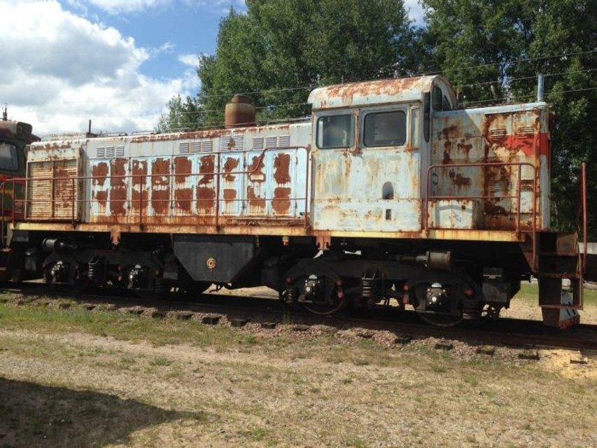 Чернобыльская АЭС продаст старые поезда - ФОТО - фото 182596