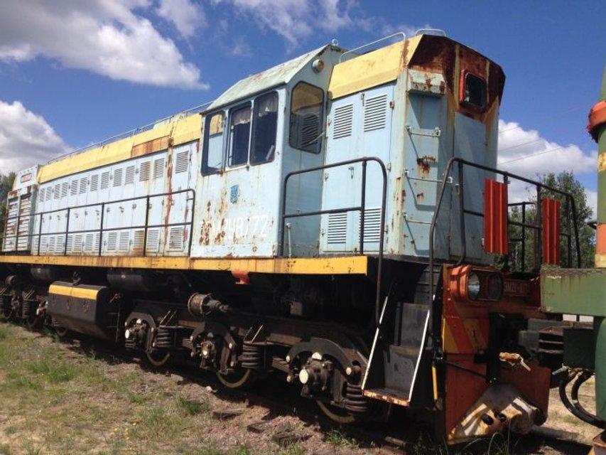 Чернобыльская АЭС продаст старые поезда - ФОТО - фото 182597