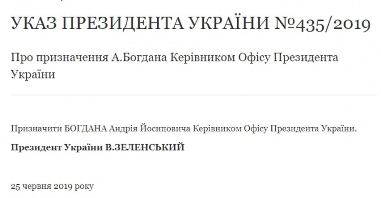 Зеленский уволил Богдана. И тут же назначил снова - фото 183270
