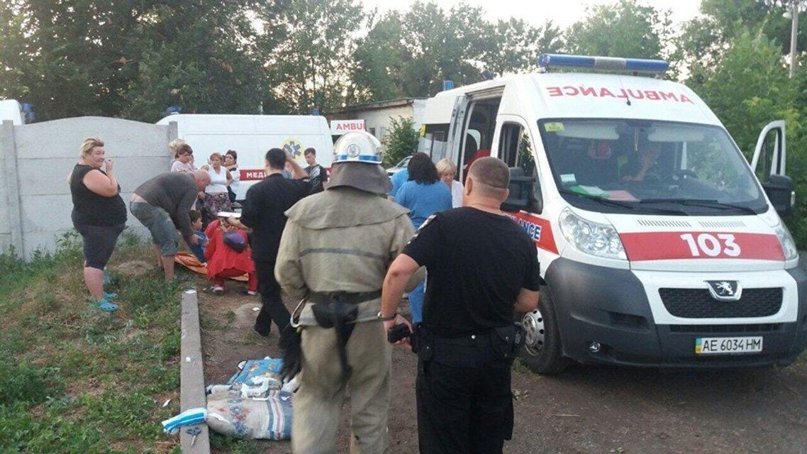Под Днепром на детской площадке взорвалась граната: дети ветеранов получили ранения 18+ - фото 183608