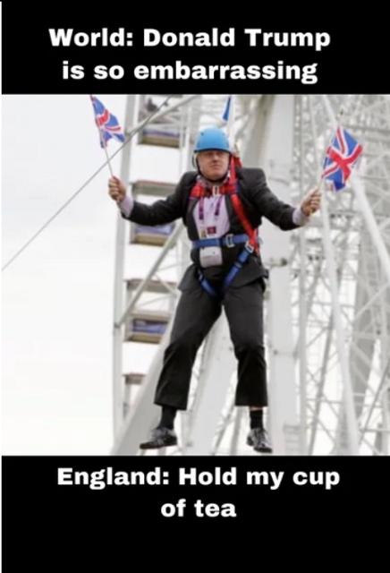Борис Джонсон - премьер. Сеть разорвало от смеха – ярчайшие МЕМЫ - фото 184823