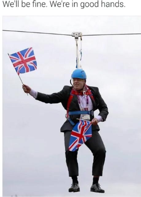 Борис Джонсон - премьер. Сеть разорвало от смеха – ярчайшие МЕМЫ - фото 184827