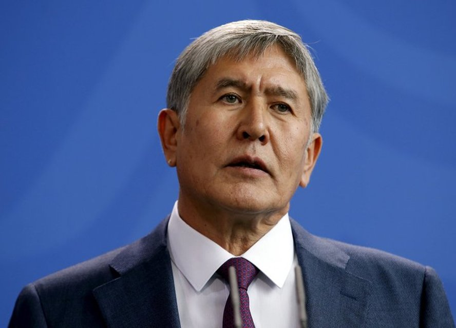 Экс-президент Кыргызстана 'сложил оружие' - ВИДЕО - фото 185593