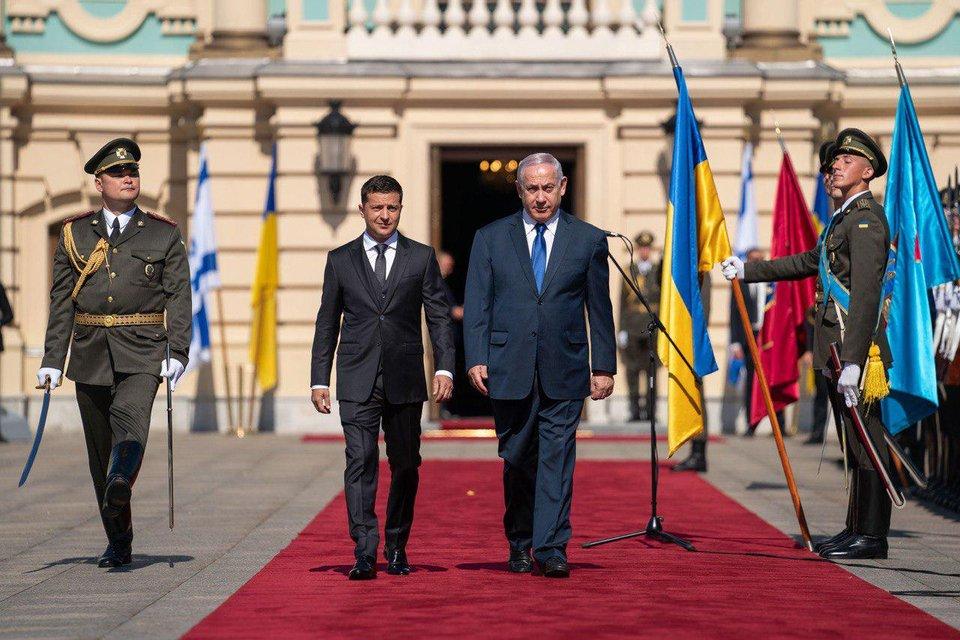 Зеленский встретился с Нетаньяху – ФОТО, ВИДЕО - фото 186169