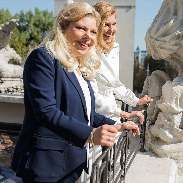 Зеленская узрела 'чудовищ' с  женой Нетаньяху  – яркие ФОТО - фото 186266