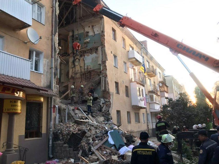 В Дрогобыче прогремел взрыв, есть жертвы – ФОТО, ВИДЕО - фото 186647