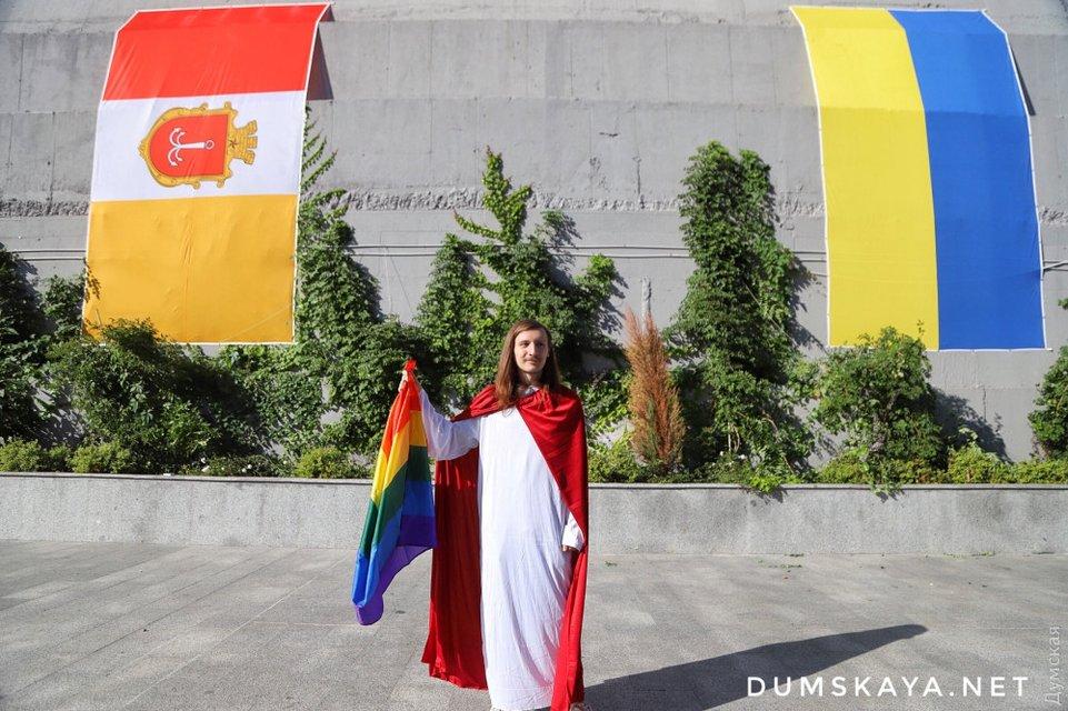 В Одессе прошел гей-парад, есть задержанные – ФОТО, ВИДЕО - фото 186898