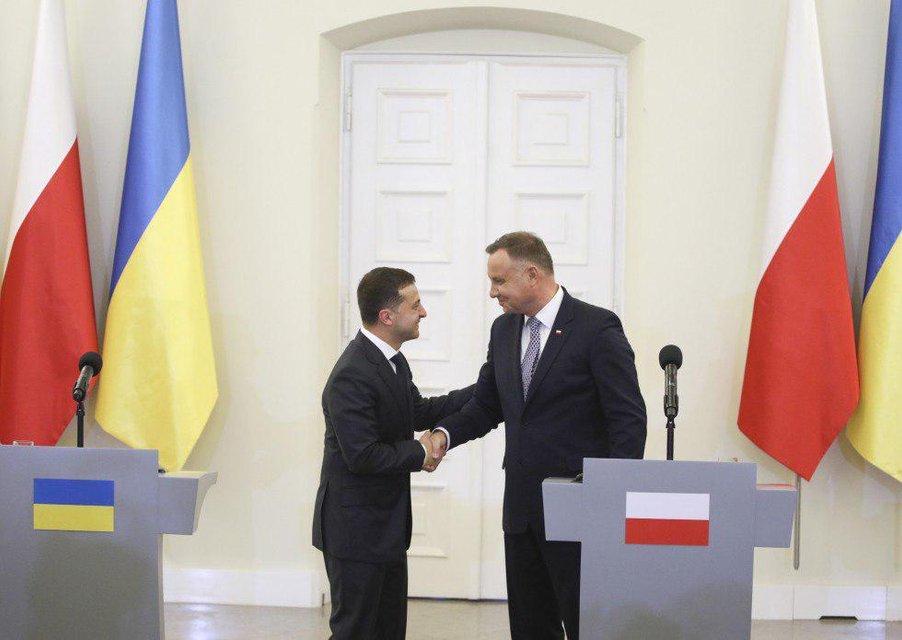 Зеленский встретился с главой Польши. Главное - фото 186907