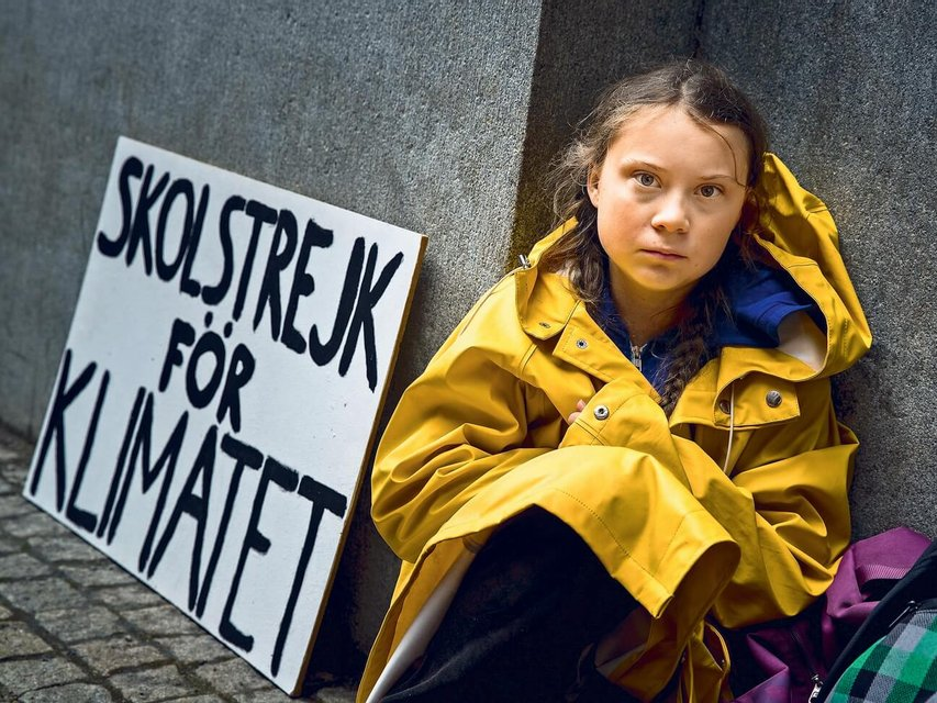 'Мы не простим вам!': как Грета Тунберг 'изменила' мир - фото 188310