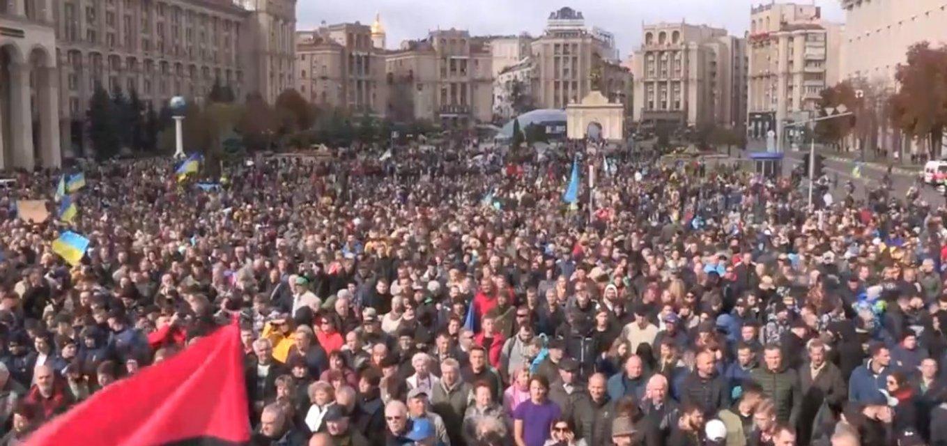 Майдан, перекличка: тысячи людей вышли на вече по всей Украине (ФОТО) - фото 189121