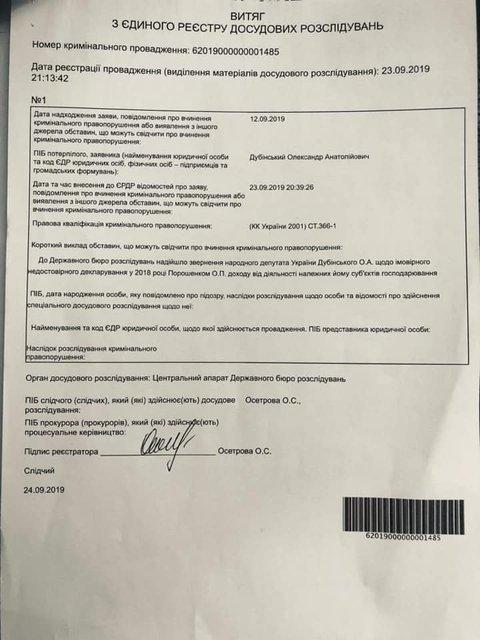 Дубинский пожаловался на Порошенко в ГБР. Что известно? – ФОТО - фото 189241