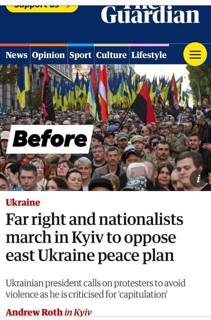 The Guardian зашкварились из-за 'фашиствующих молодчиков' из Азова (ФОТО) - фото 189632