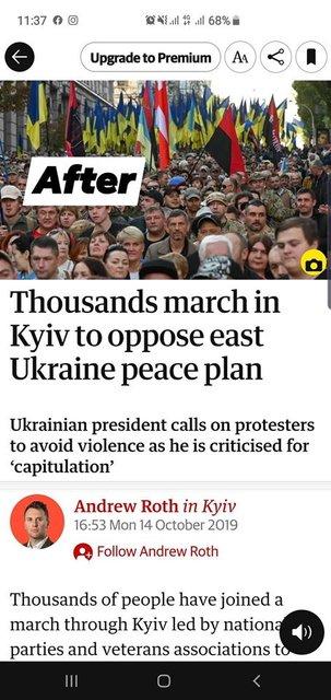 The Guardian зашкварились из-за 'фашиствующих молодчиков' из Азова (ФОТО) - фото 189634