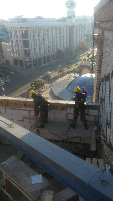 Адвокат-владелец жлобнадстройки на Майдане угрожает взорвать дом (ФОТО) - фото 189762
