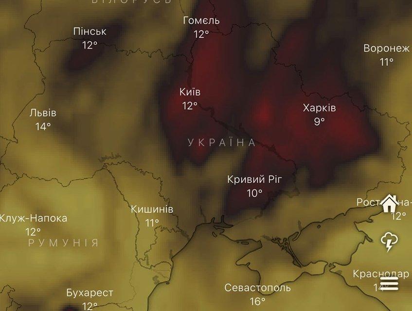 Сеть бьет тревогу, воздух в Украине ужасно загрязнён. Так ли это? - фото 189856