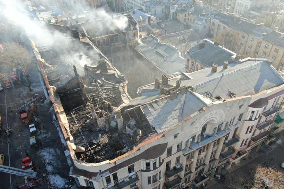 Новая одесская трагедия: Кто виноват в пожаре в колледже - фото 192501