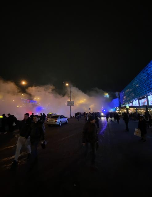 Киевский ТРЦ Ocean Plaza эпично затопило ВИДЕО - фото 194256