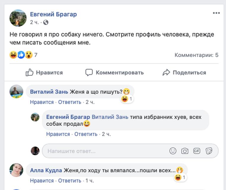 Шарикгейт: Депутат Брагар самоубился в фейсбуке - фото 195255