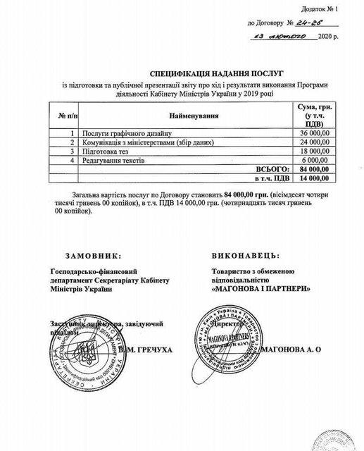 Кабмин заплатил ФОПу 84 000 гривен на нелепые слайды - фото 196047