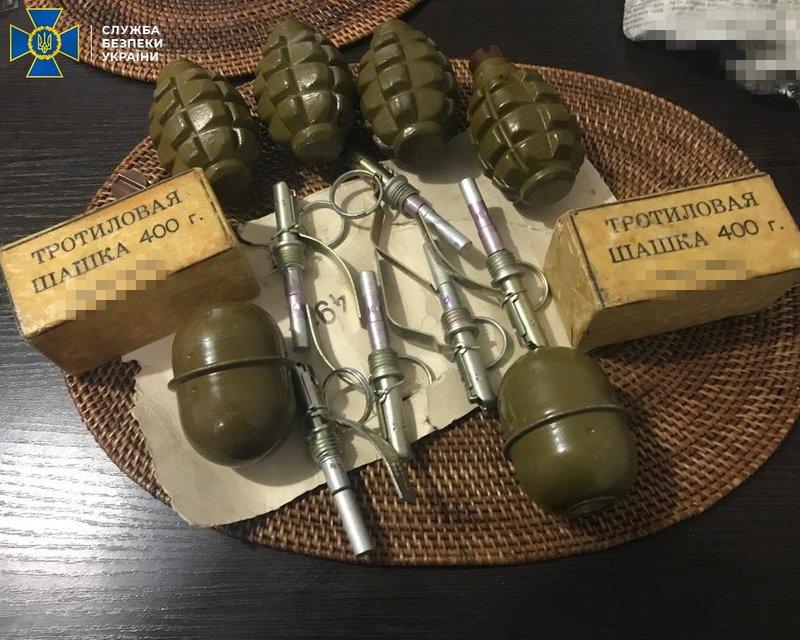 СБУ схватила священника, продававшего гранаты – ФОТО - фото 196712