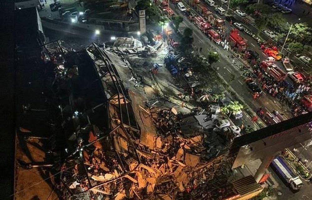 В Китае рухнул отель с десятками людей: Они находились на карантине – ФОТО, ВИДЕО - фото 196932