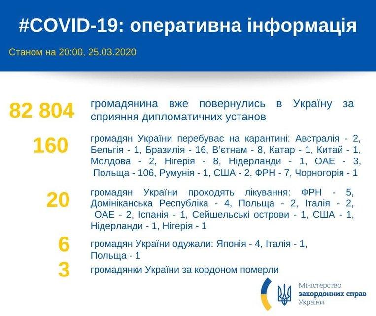 В Украину вернулись 82 тыс человек – МИД - фото 197805