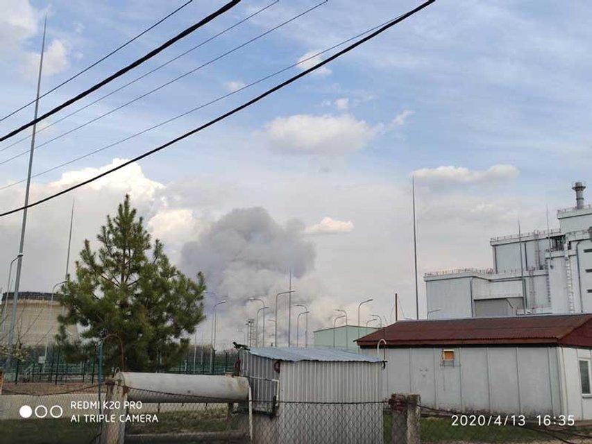 Пожар в Зоне отчуждения вплотную приблизился к ЧАЭС (ФОТО+ВИДЕО) - фото 198630