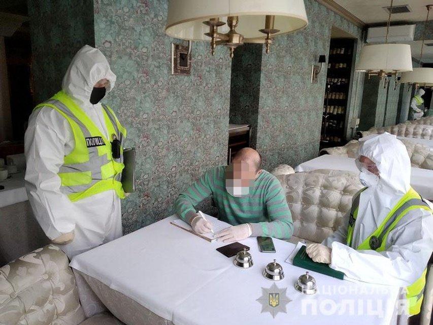 Полиция проревизорила ресторан Тищенко - ФОТО, ВИДЕО - фото 199301