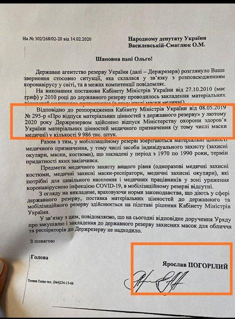 Кабмин уволил главу Госрезерва, который рассказал о продаже масок за границу (ФОТО) - фото 200068