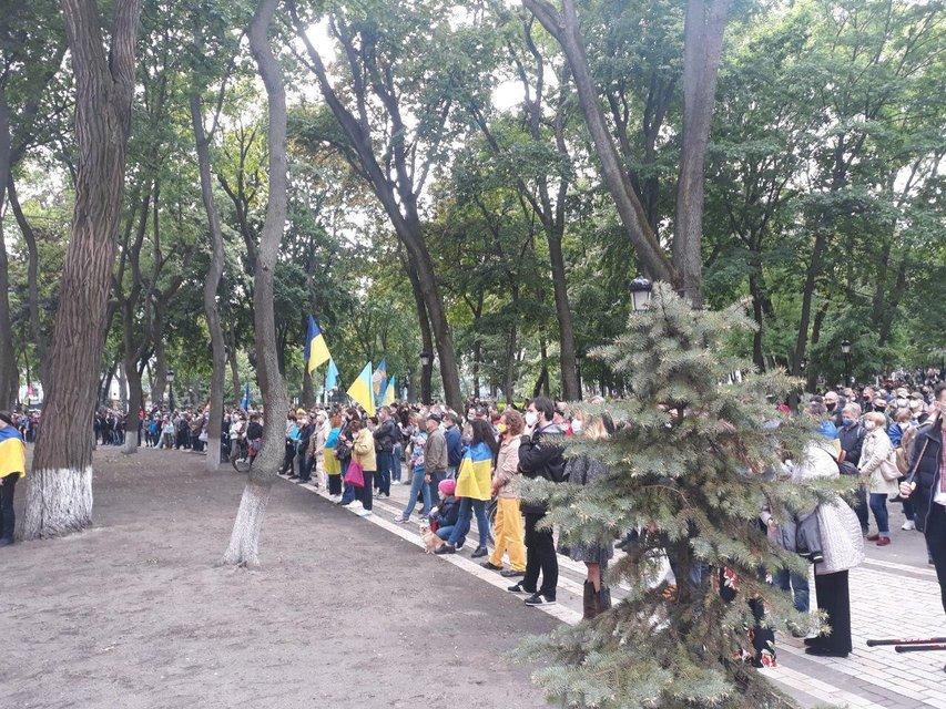Сотрудники Авакова приватизировали право протестовать против Зеленского - фото 200482