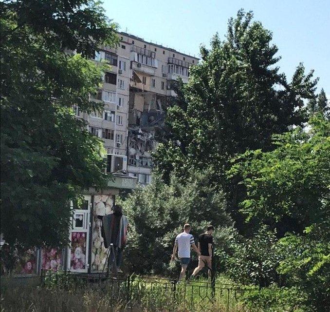 В Киеве произошел масштабный взрыв в десятиэтажном доме (ФОТО+ВИДЕО) - фото 201715