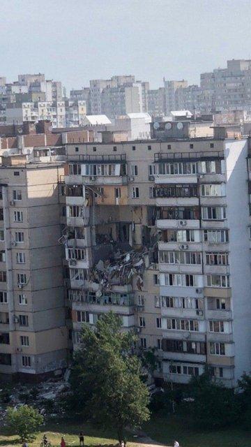 В Киеве произошел масштабный взрыв в десятиэтажном доме (ФОТО+ВИДЕО) - фото 201716
