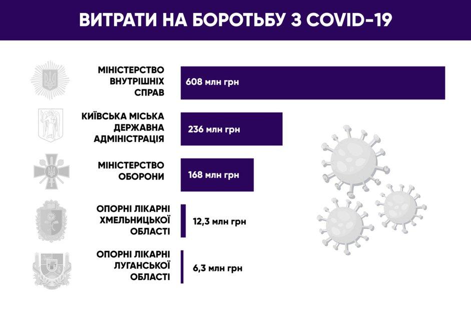МВД потратило на борьбу с коронавирусом больше сотни опорных больниц - фото 202023