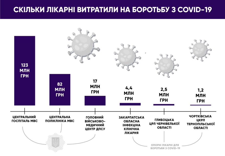 МВД потратило на борьбу с коронавирусом больше сотни опорных больниц - фото 202024