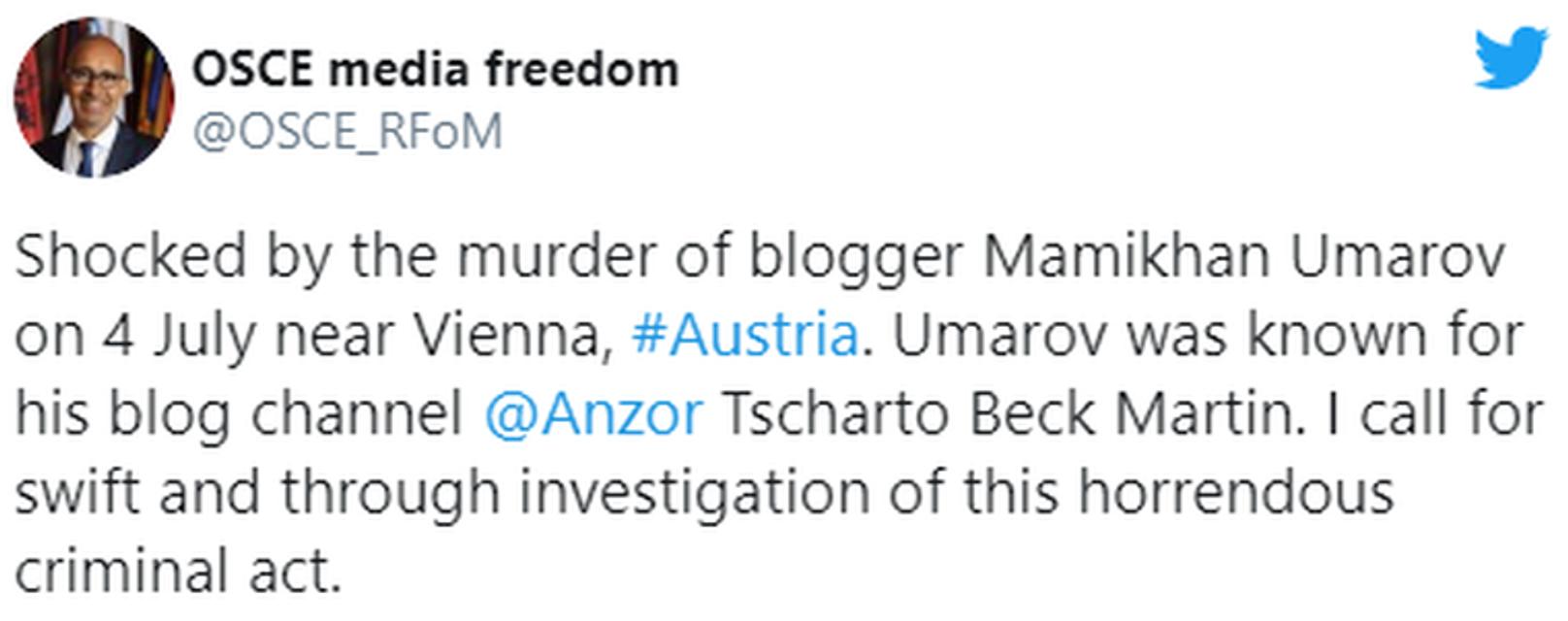 В ОБСЕ инфантильно отреагировали на убийство русскими свидетеля по делу Окуевой - фото 202361