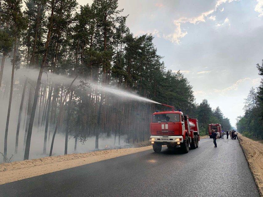 На Луганщине бушуют лесные пожары, идет срочная эвакуация  – ФОТО - фото 202416