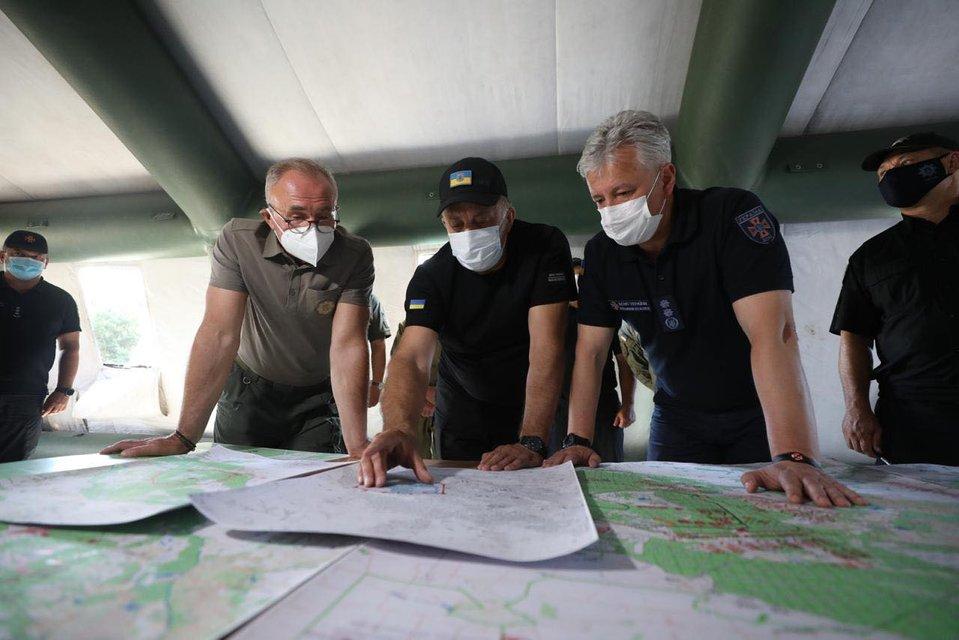 Пожары на Луганщине: Спасатели обуздали стихию - фото 202536