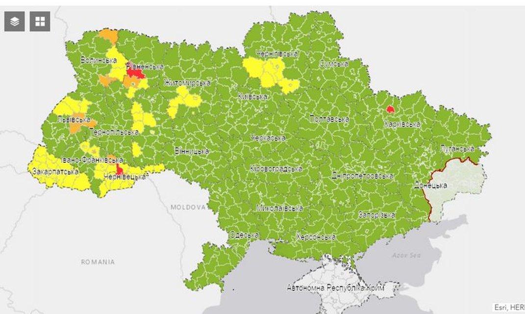 Коронавирус в Украине: Харьков оказался в красной зоне - фото 203719